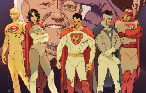 Jupiter's Legacy - superbohaterski serial Netflixa traci showrunnera