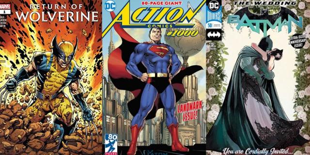 Marvel czy DC? Poznaj najlepiej sprzedające się komiksy 2018 roku