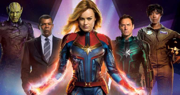 Kapitan Marvel – recenzja filmu