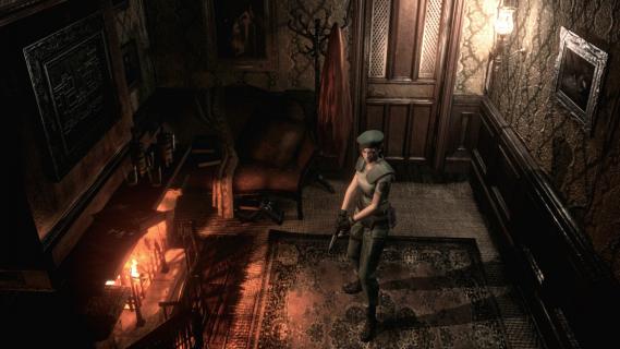 Tak mogłoby wyglądać intro Resident Evil Remake, gdyby gra powstała