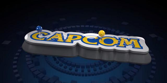 Arcade'owa retrokonsola Capcomu to wielkie logo firmy