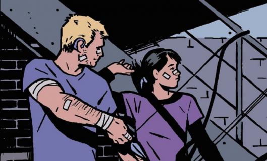 Hawkeye - Clint, Kate i Fuks na pierwszym nagraniu z planu serialu Disney+