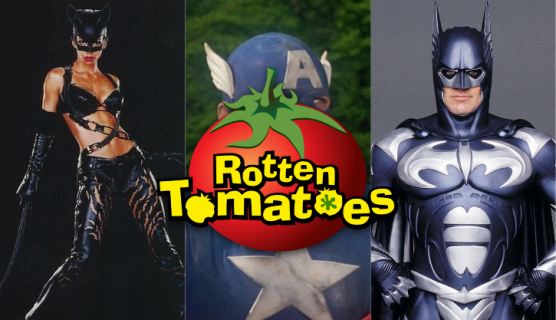 Najgorsze filmy komiksowe według według Rotten Tomatoes