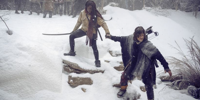 The Walking Dead – głos w radiu wyjaśniony? Kulisy finału 9. sezonu