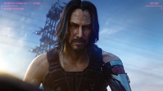 Cyberpunk 2077 - zanim przyszedł Keanu Reeves, Johnny Silverhand miał wyglądać tak [GRAFIKI]