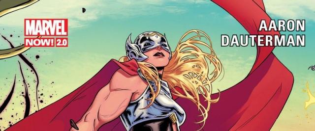 Potężna Thor #01: Grzmiąca krew - recenzja komiksu