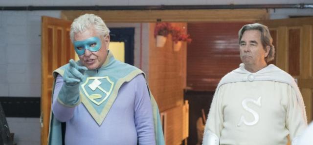 Supervized - zwiastun komedii. Emerytowani superbohaterowie w akcji