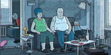 Simpsonowie w wersji rosyjskiej. Zobacz niepokojące wideo