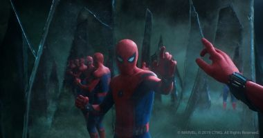 Spider-Man: Daleko od domu - [SPOILER] w grobie. Te zdjęcia to świetne tapety