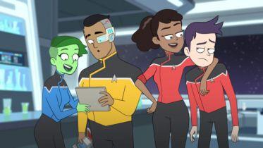 Star Trek: Lower Decks - plakat i data premiery serialu animowanego z uniwersum