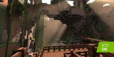 NVIDIA pokazuje nowe materiały z Minecrafta RTX