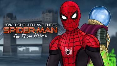 Spider-Man: Daleko od domu - parodia od HISHE. Dużo Pajączków