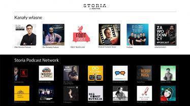 Storia by Abstra łączy wideo na YouTube i podcasty