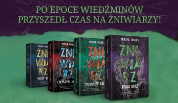 Żniwiarz - wygraj zestaw książkowego cyklu fantasy