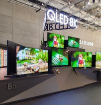 Tak może wyglądać bezramkowy telewizor Samsung 8K