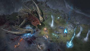 Diablo IV - nowy gameplay przedstawia starcie z olbrzymim bossem