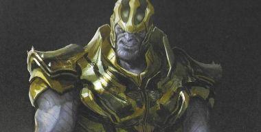Avengers: Endgame - Thanos mógł mieć inną zbroję i broń. Szkice złoczyńcy MCU