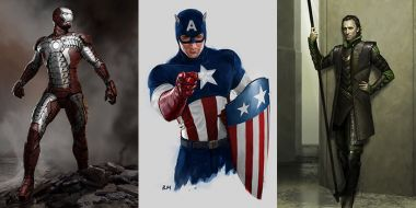 Tak rodziło się MCU - Iron Man, Loki, Thor i inni na szkicach, których nie widzieliście