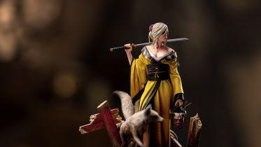 Ciri jako samuraj? Zobacz nową figurkę ze stajni CD Projekt RED