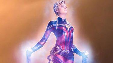 W Avengers: Endgame pokazała potworną moc. Kapitan Marvel - zdjęcia figurki
