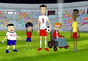 Kosmiczny wykop - zwiastun serialu animowanego z Robertem Lewandowskim w roli głównej
