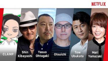 Netflix nawiązuje współprace z sześcioma twórcami anime i mang