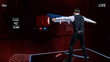 Gra Beat Saber VR wAnt & Dec's Saturday Night Takeaway