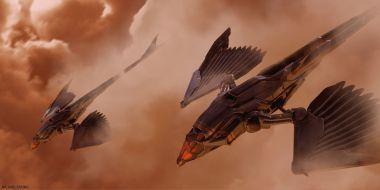 Diuna - ornitopter z filmu! Wyciekły dwa zdjęcia