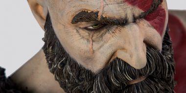 God of War: Wielkie popiersie Kratosa, cena również... Szykujecie portfele?
