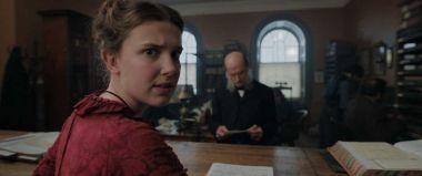 Enola Holmes - zdjęcia. Henry Cavill jako Sherlock Holmes