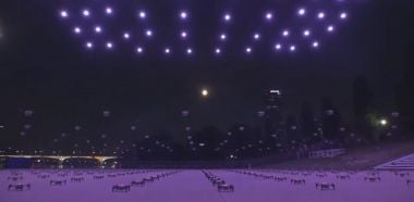 Korea Południowa - pokaz dronów przypomniał o restrykcjach pandemicznych