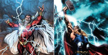 Marvel - Thor kontroluje każdy piorun. Co jednak z błyskawicą Shazama?