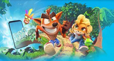 Crash Bandicoot: On the Run! ujawnione. Sympatyczny jamraj trafi na urządzenia mobilne