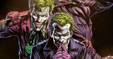 Batman - poznaliśmy przydomki Trzech Jokerów. Seria na zawsze zmieni świat DC?