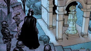 Gwiezdne wojny: w nowym komiksie Darth Vader powraca na Naboo i przybywa na grób Padme - zobaczcie plansze