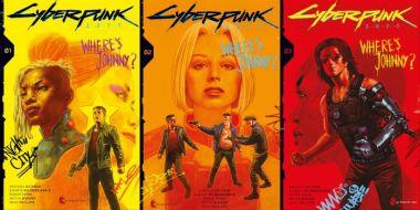 """Cyberpunk 2077 z komiksową serią """"Where's Johnny"""". Jest też konkurs, w którym można wygrać... samochód"""