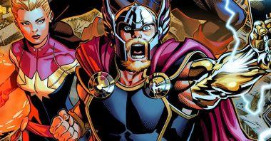 Thor i [SPOILER] oficjalnie są parą. Wielka miłość - całują się nawet w środku bitwy