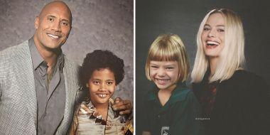 Aktorzy obecnie i jako dzieci. Ten niezwykły album jest jak wehikuł czasu
