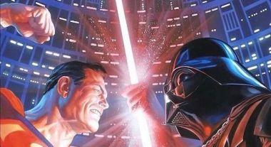 DC i Gwiezdne Wojny połączone na kapitalnej grafice Alexa Rossa