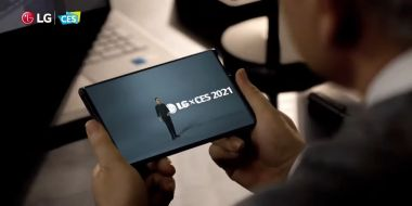 LG Rollable – smartfon ze zwijanym ekranem [CES 2021]