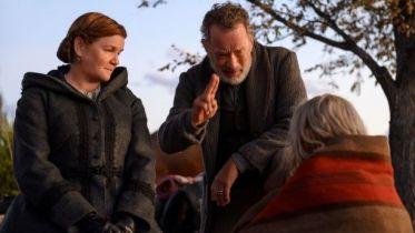 Nowiny ze świata - nowy zwiastun filmu. Tom Hanks ogłasza wiadomości u twórcy Ultimatum Bourne'a