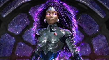 Titans - Blackfire na pierwszym zdjęciu z serialu DC i HBO Max