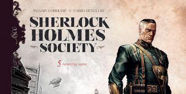 Sherlock Holmes Society. Tom 5: Grzechy syna - recenzja komiksu