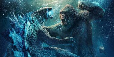 Godzilla kontra Kong - potwory walczą w takt piosenki ze Shreka. Film bije kolejny rekord kasowy