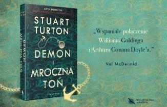 Mroczna zagadka w powieści Demon i mroczna toń: przeczytaj fragment w dniu premiery