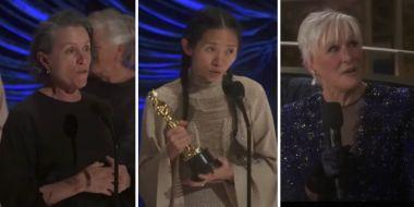 Oscary 2021: 7 wartych zapamiętania momentów gali