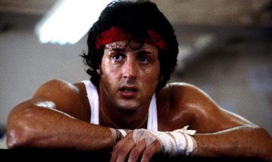 Tak wygląda pierwszy projekt plakatu do filmu Rocky. Zobacz zdjęcie