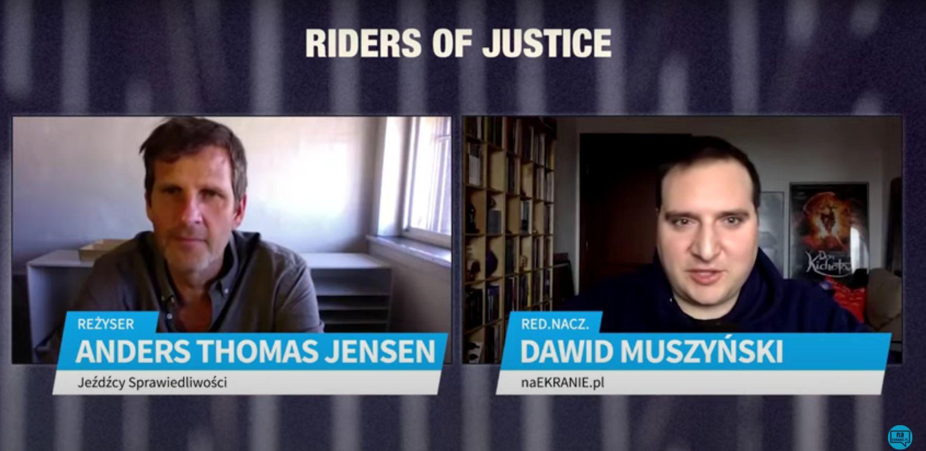Anders Thomas Jensen o filmie Jeźdźcy sprawiedliwości [WYWIAD WIDEO]