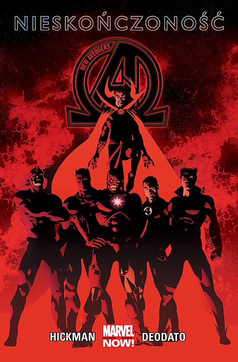 New Avengers. Nieskończoność, tom 2 - okładka