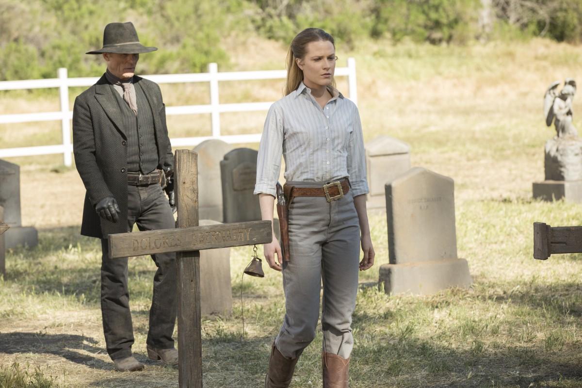 Westworld - zdjęcie z 10. odcinka. Finał sezonu